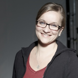 Birte Vogel, Porträtistin (Foto: Dieter Sieg)