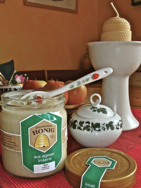 Imker Noltemeyers Honig ist ein süßes Gedicht. (Foto: Birte Vogel)