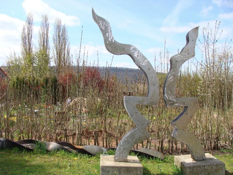 Das Emblem der von Rimkus initiierten Kulturfeuer-Stiftung. (Foto: Birte Vogel)