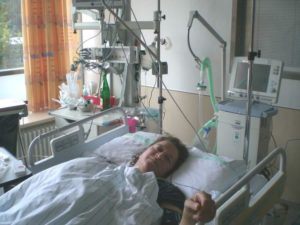 Nach der Operation an der Hypophyse (Foto: privat)