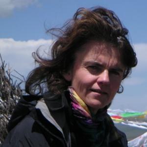 Alice Grünfelder in Tibet (Foto © Rainer Kehrt)